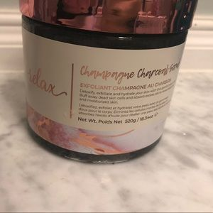 Other - Champagne charcoal scrub